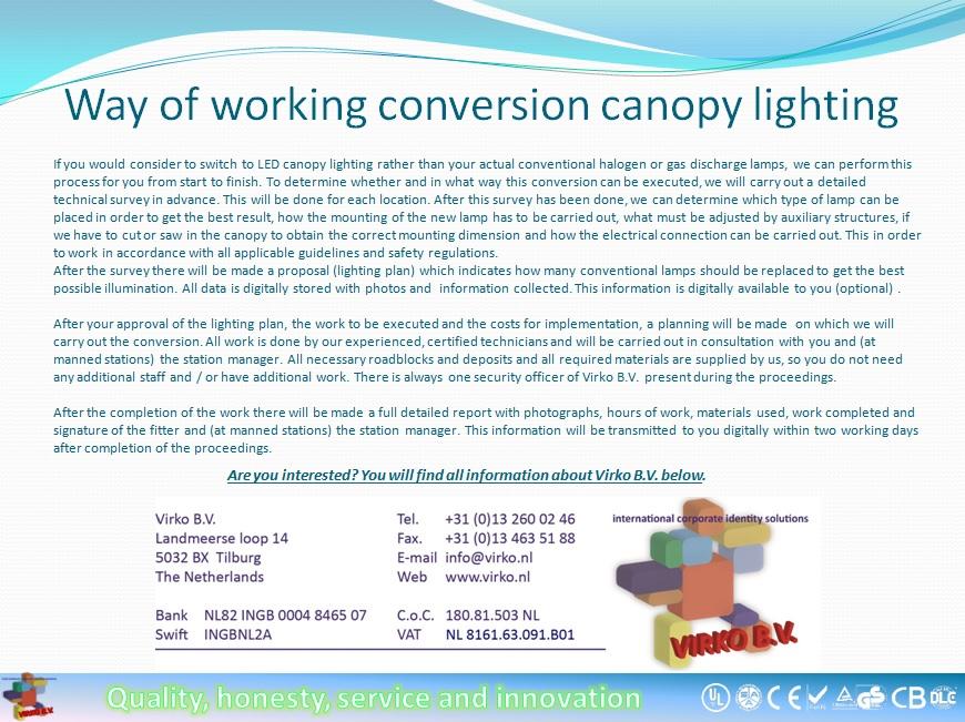 Canoly lighting slide show